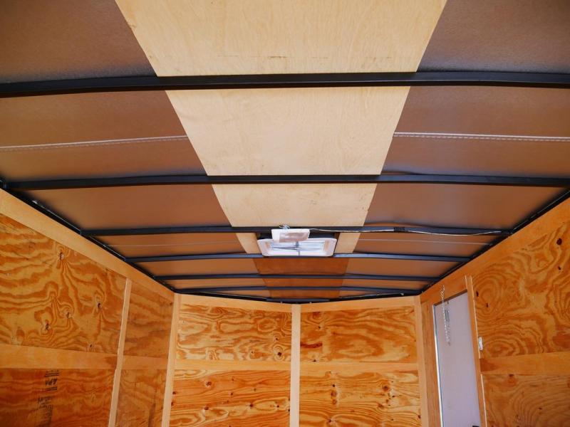 *E6-BB* 7x12 Enclosed Trailer Cargo L R Box Lawn Trailers 7 x 12 | EV7-12T3-R