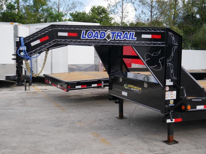 *107390* 8.5x36 Load Trail Gooseneck Car Trailer | Drive Over Fenders Trailers 8.5 x 36 | CHG102-36T7-DOF