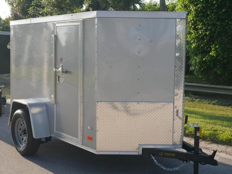 *107746* 5x8 Enclosed Cargo Trailer |LRT Haulers & Trailers 5 x 8