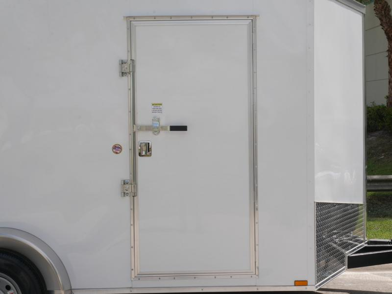 *E8I* 7x14 18 MONTHS NO INTEREST   Enclosed Cargo Trailer 7 x 14   EV7-14T3-R