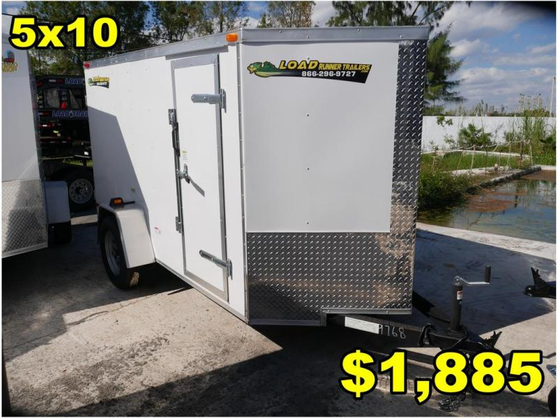 *FD05 ORL* 5x10 FACTORY DIRECT!| Enclosed Cargo Trailer |Trailers 5 x 10