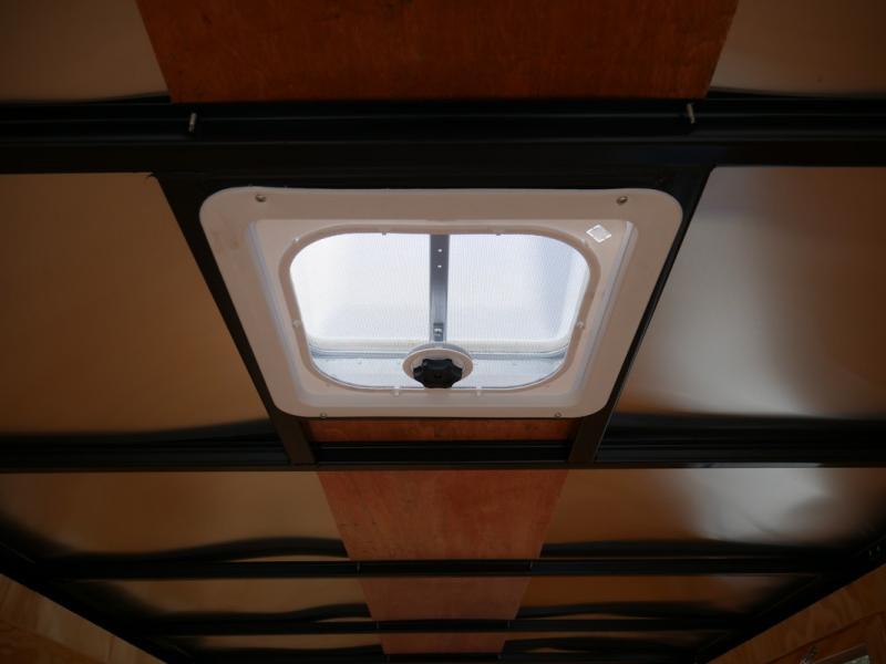 *108013* 6x12 Enclosed Cargo Trailer |TEXTURED SCRATCH RESISTANT EXTERIOR 6 x 12