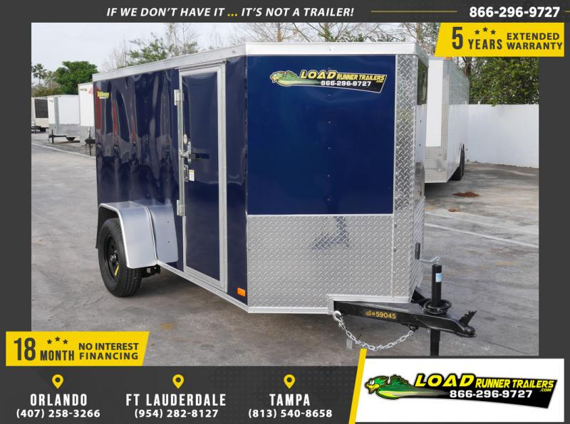 *108895* 5x10 Enclosed Cargo Trailer |LRT Haulers & Trailers 5 x 10