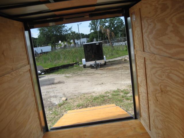 *E3B* 6x10 Enclosed Trailer Cargo L R  Lawn Trailers 6 x 10   EV6-10S3-R