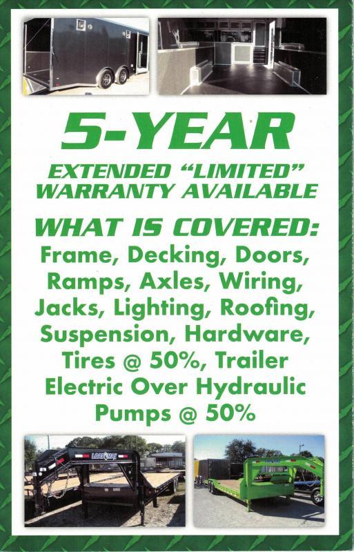 *E11G* 8.5x20 Cargo Enclosed Trailer Car Hauler 8.5 x 20 | EV8.5-20T5TS-R