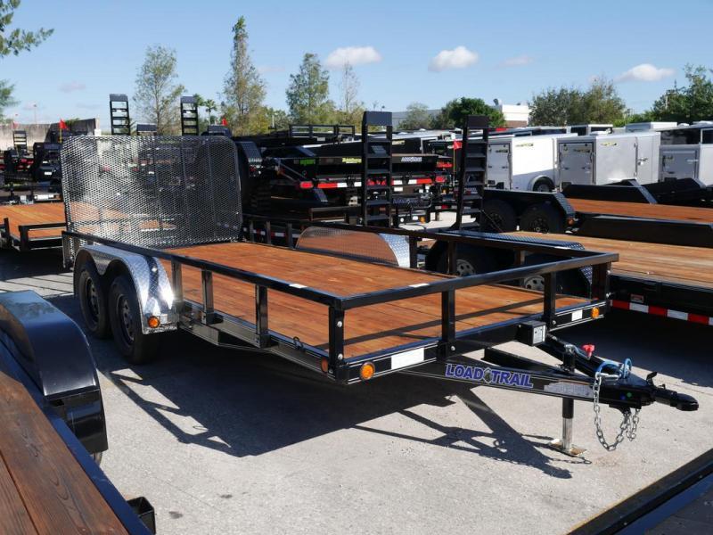 *108109* 7x16 Utility|Lawn|ATV|Multipurpose Trailer |LRT Tandem Axle Trailers 7 x 16