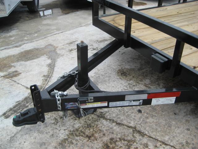 *U36* 7x20 Utility Trailer|HEAVY DUTY Tandem 5200# Axles w/Ramp 7 x 20 | U83-20T5-2B-TR
