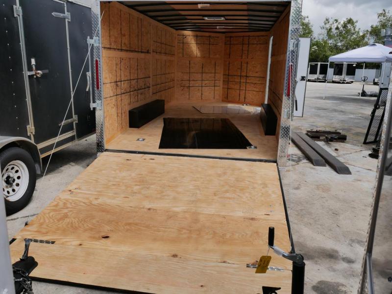 *107876* 8.5x16 Enclosed Cargo Trailer  LRT Trailers 8.5 x 16