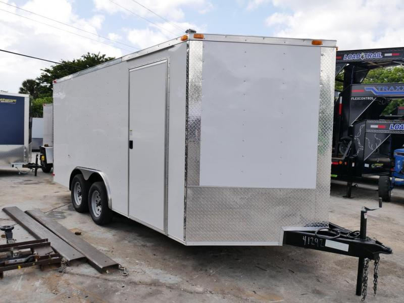 *107876* 8.5x16 Enclosed Cargo Trailer |LRT Tandem Axle Trailers 8.5 x 16 | EV8.5-16T3-R