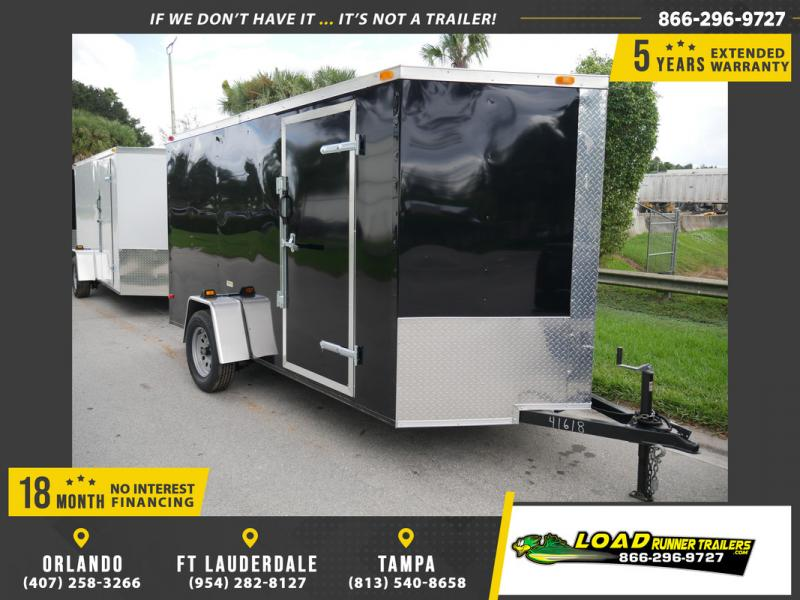 *108046* 6x12 Multipurpose Enclosed Cargo Trailer |LRT Haulers & Trailers 6 x 12