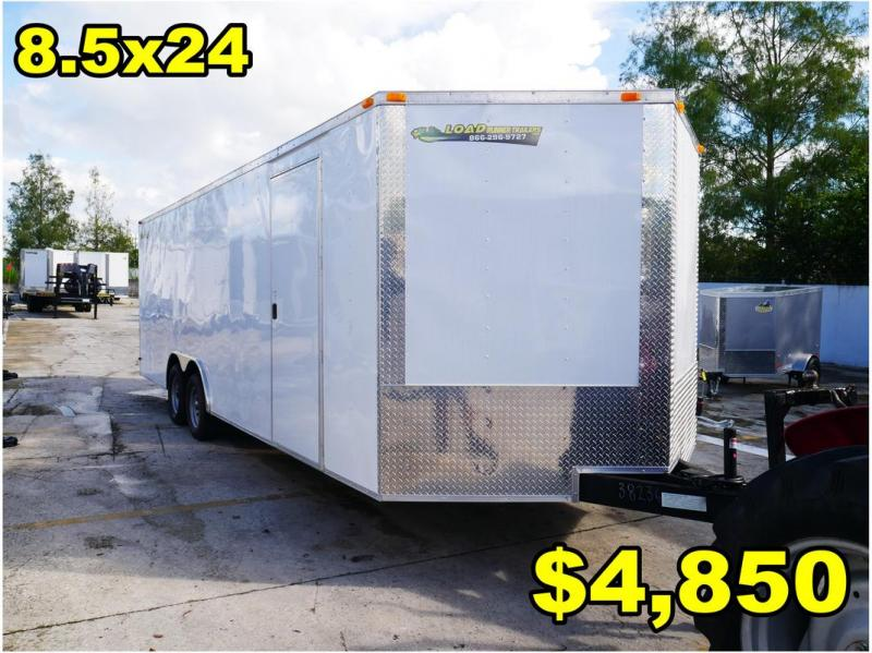 *FD33 TPA* 8.5x24 FACTORY DIRECT! Enclosed Cargo Trailer 8.5 x 24