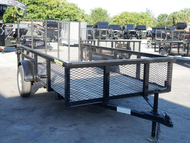 *107280* 6x12 Utility|Lawn|Multipurpose Trailer |LRT Trailers| 2' Mesh Sides 6 x 12