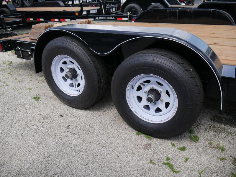 *CH14B* 7x18 5 TON Car Hauler Trailer w/Brakes Trailers & Haulers 7 x 18 | CH82-18T5-2B