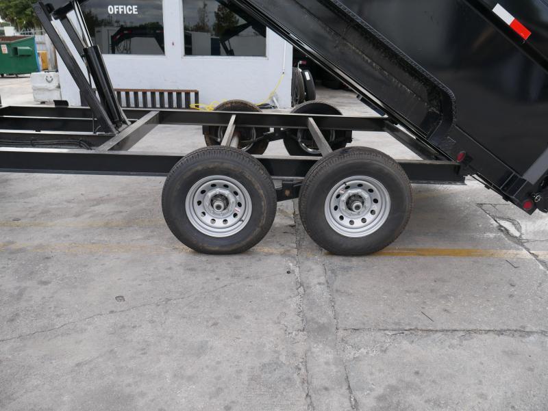 *DG33* 7x16 Gooseneck Dump Trailer |7 TON Dumps & Trailers 7 x 16 | DG83-16T7-48S