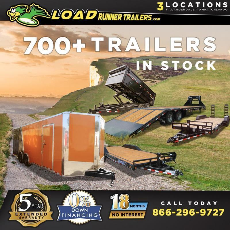 *18M-INV* Dump Enclosed | Cargo | Car| Trailer Dump | Enclosed | Flatbeds Trailer | Trailers