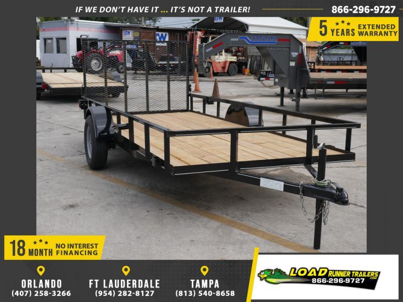 *108020* 6x14 Utility|Lawn|ATV|Multipurpose Trailer |LRT Haulers & Trailers 6 x 14