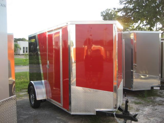 *E2B* 5x10 Cargo Enclosed Trailer LR Catering Cargo 5 x 10 | EV5-10S3-R