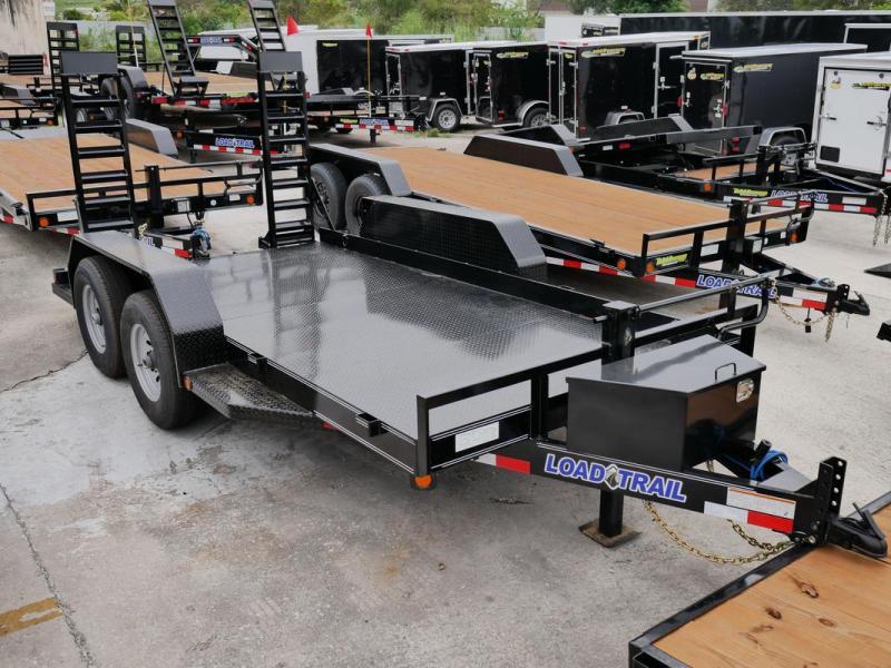 *107781* 7x14 Bobcat Hauler Trailer |LRT Tandem Axle Trailers 7 x 14 | BC80-14T7-SD/KR