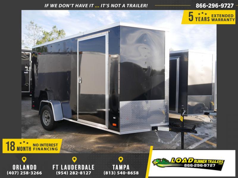 *107913* 6x12 Enclosed Cargo Trailer |LRT Haulers & Trailers 6 x 12