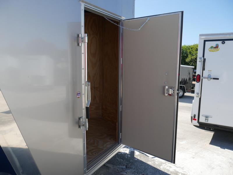 *E4L* 6X12  Enclosed Cargo Trailer LR Camping Trailers 6 x 12 | EV6-12S3-R