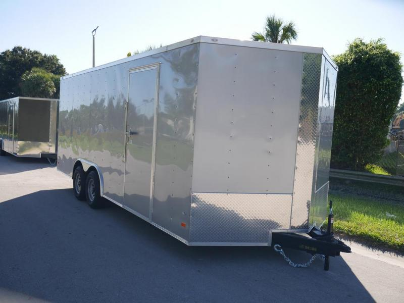 *108139* 8.5x20 Enclosed Cargo Trailer |Tandem Axle 8.5 x 20