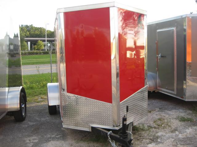 *E2B* 5x10 Cargo Enclosed Trailer LR Catering Cargo 5 x 10   EV5-10S3-R