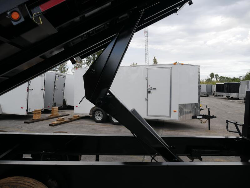 *DG51* 8x18 10 TON Dual Tandem Dump Trailer |LR Trailers 8 x 18 | DG96-18T10-48S