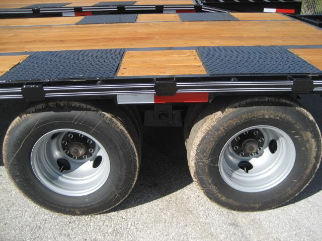 *FP17* 8.5x25 Flatbed Pintle Deck Over  Military Trailers 8.5 x 25   FP102-25T10-LP/MPD