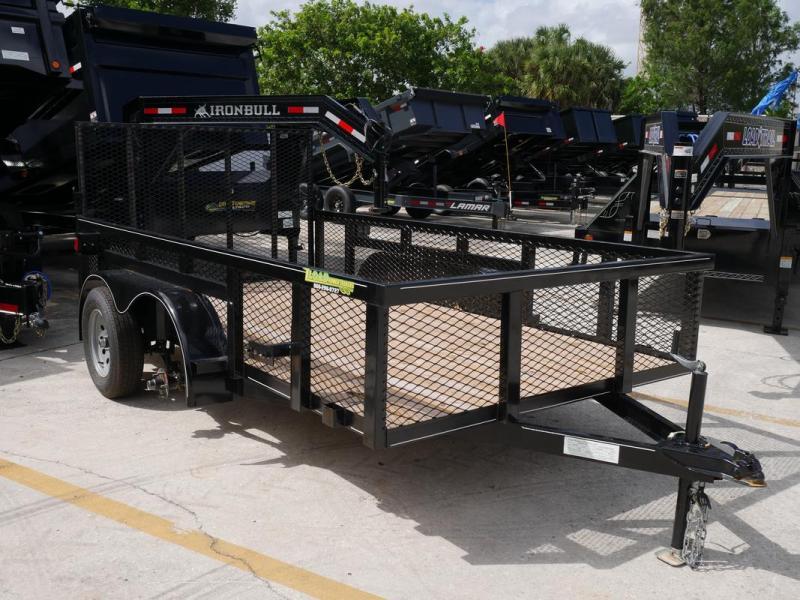 *107679* 6x12 Utility|Lawn|ATV|Multipurpose Trailer |LRT Tandem Axle Trailers 6 x 12 | U76-12T3-0B-TR/2M