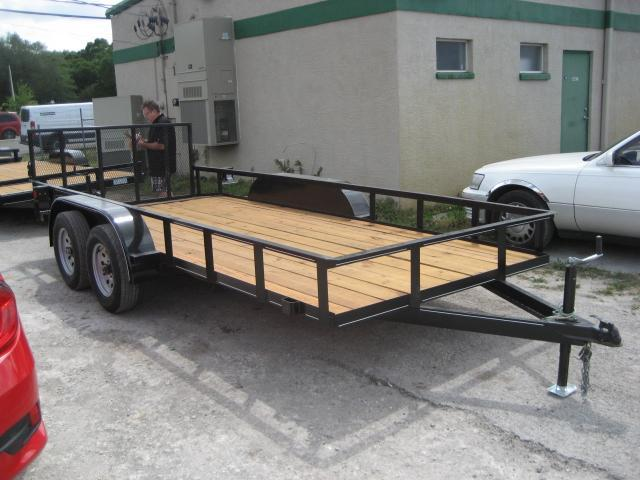 *U14* 6.5x16 Utility Lawn Trailer 7K w/Dove 6.5 x 16 | U76-16T3-0B-DT/AR
