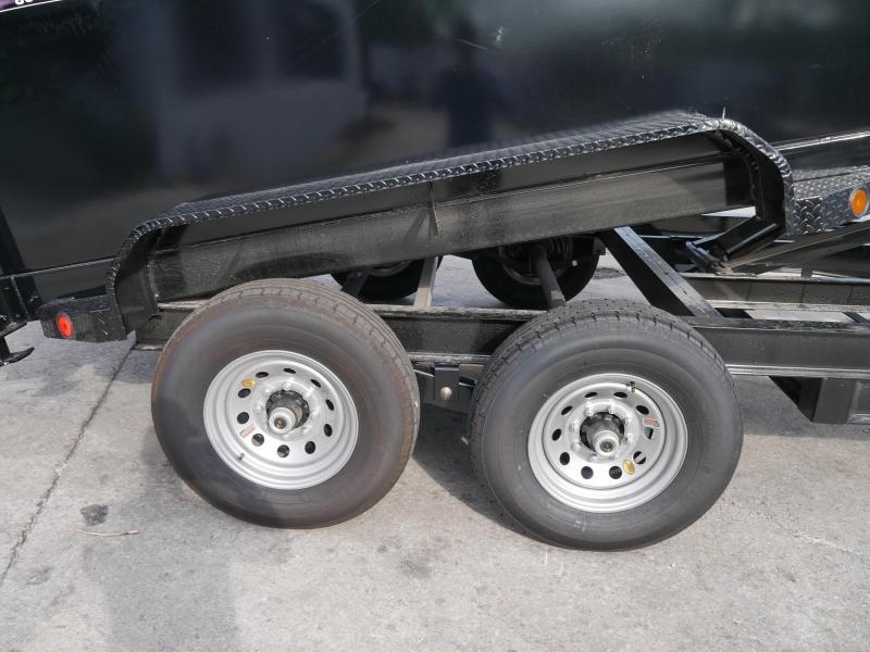 *DB72* 7x14 7 Ton Nortstar Dump Trailer Tandem Axle Trailers 7 x 14   D83-14T7-48S