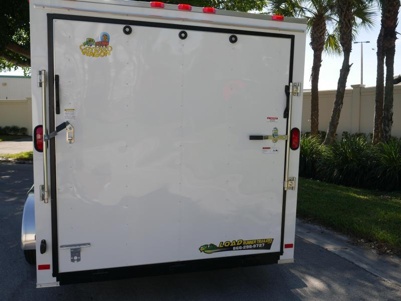 *E9F* 7x16 Enclosed Cargo Trailer Tandem Axle Hauler 7 x 16 | EV7-16T3-R
