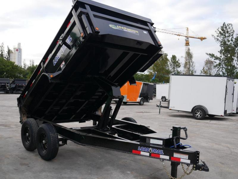 *108337* 7x12 Load Trail Dump Trailer |LRT Trailers 7 x 12