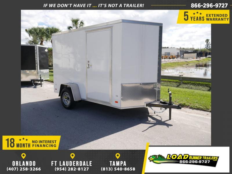 *108401* 6x10 Enclosed Cargo Trailer |LRT Haulers & Trailers 6 x 10