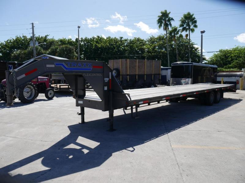 *107925* 8.5x36 Gooseneck Flatbed Deck Over Trailer |LRT Haulers & Trailers 8.5 x 36 | FG102-36T10-LP/MPD