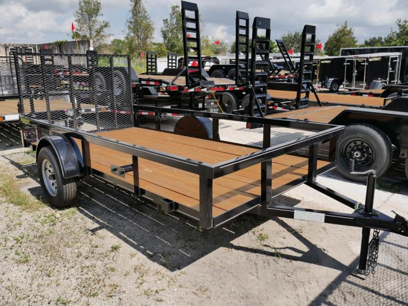 *106693* 6x12 Utility Trailer | Lawn Mower Trailers 6 x 12