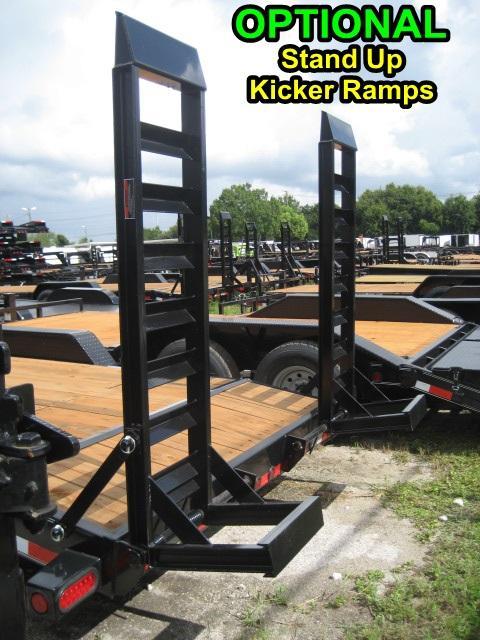 *EQ14* 7x20 7 TON Equipment & Car Hauler Trailer |LR Trailers 7 x 20 | EQ83-20T7-KR