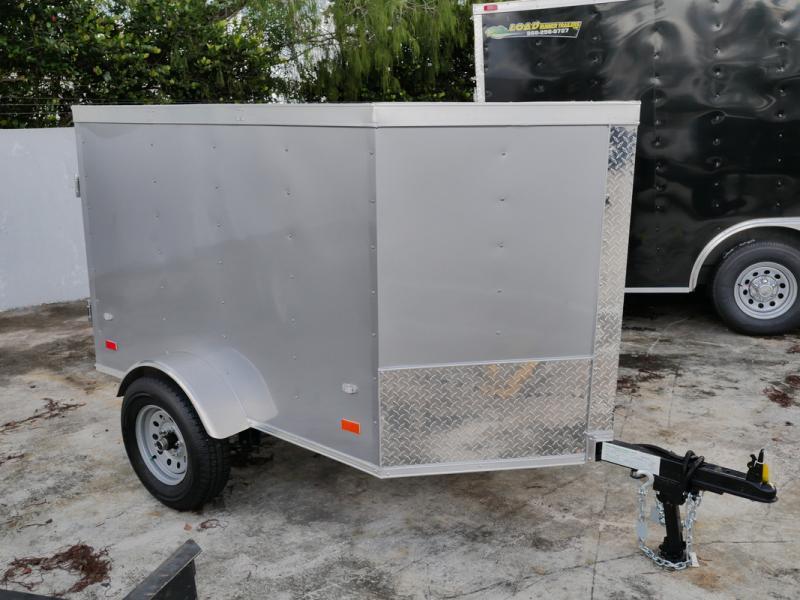 *107819* 4x6 Enclosed Cargo Trailer |LRT Haulers & Trailers 4 x 6