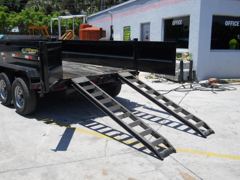 *DB70* 6x12 5 Ton Tandem Dump trailer Bumper Pull Trailers 6 x 12   D72-12T5-24S