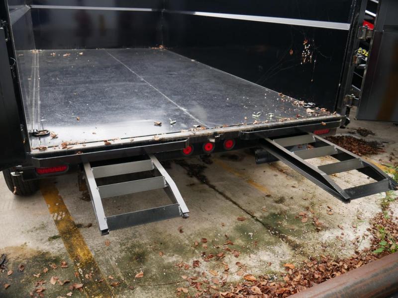 *107537* 7x14 Iron Bull Gooseneck Dump Trailer  Norstar Tandem Axle Trailers 7 x 14