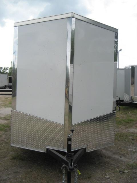 *E4D* 6x12 Enclosed Cargo Trailer LR Carpenter Trailers 6 x 12 | EV6-12S3-R