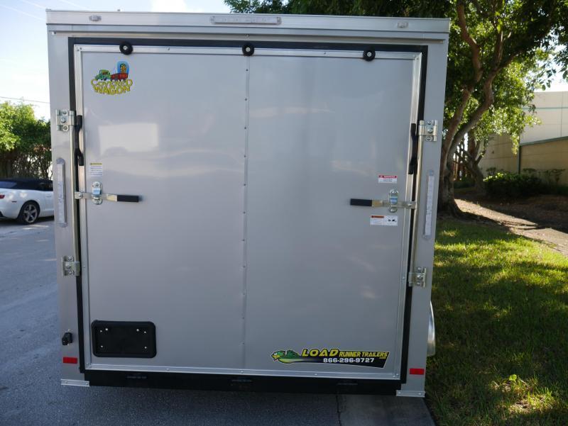 *E14B* 7x12 Enclosed Cargo Trailer Trailers Tandem Axle 7 x 12 | EV7-12T3-R