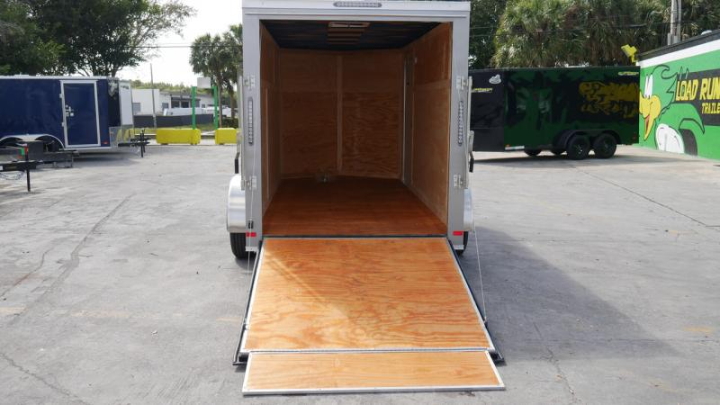 *108844* 6x14 Enclosed Cargo Trailer |LRT Tandem Axle Trailers 6 x 14