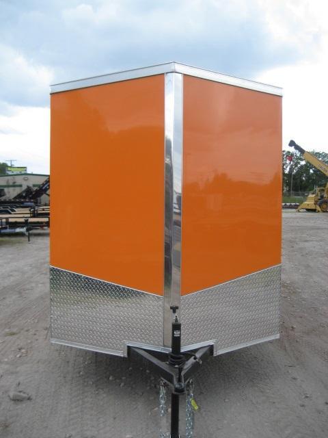 *E4* 6x12 Enclosed Trailer Cargo L R Box Lawn Trailers 6 x 12 | EV6-12S3-R