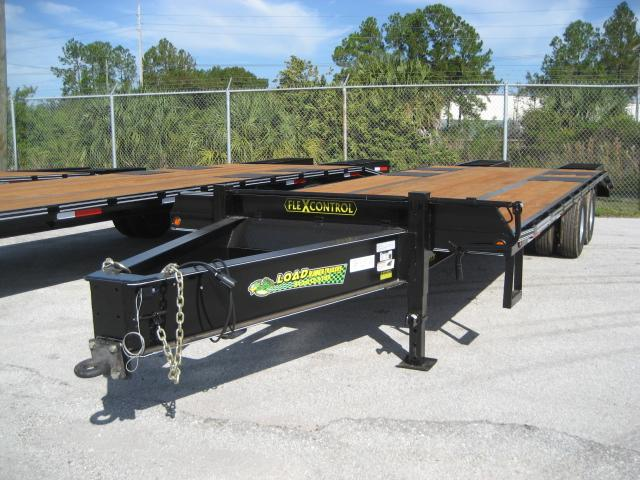 *FP17* 8.5x25 Flatbed Pintle Deck Over |Military Trailers 8.5 x 25 | FP102-25T10-LP/MPD
