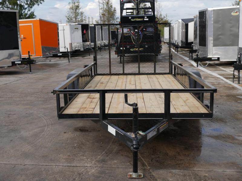 *108017* 6x14 Utility|Lawn|ATV Trailer |Tandem Axle Trailers 6 x 14