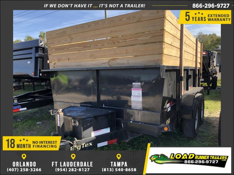*108281* 7x12 Dump Trailer |LRT Tandem Axle Trailers 7 x 12