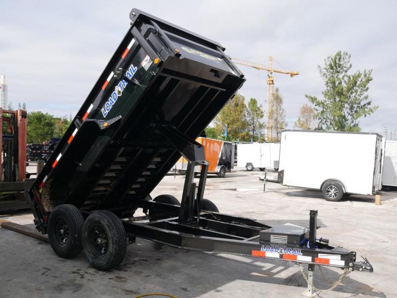 *108352* 6x12 LOAD TRAIL Dump Trailer |Tandem Axle Trailers 6 x 12