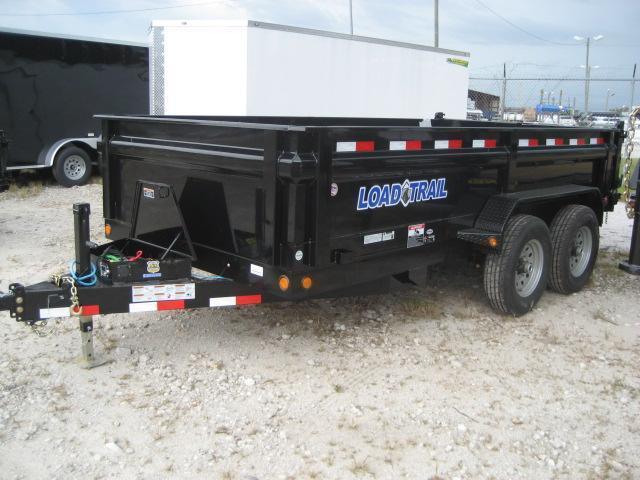 *DB19* 7x14 14K Load Trail Dump Trailer Tandem Axle Trailers 7 x 14   D83-14T7-24S