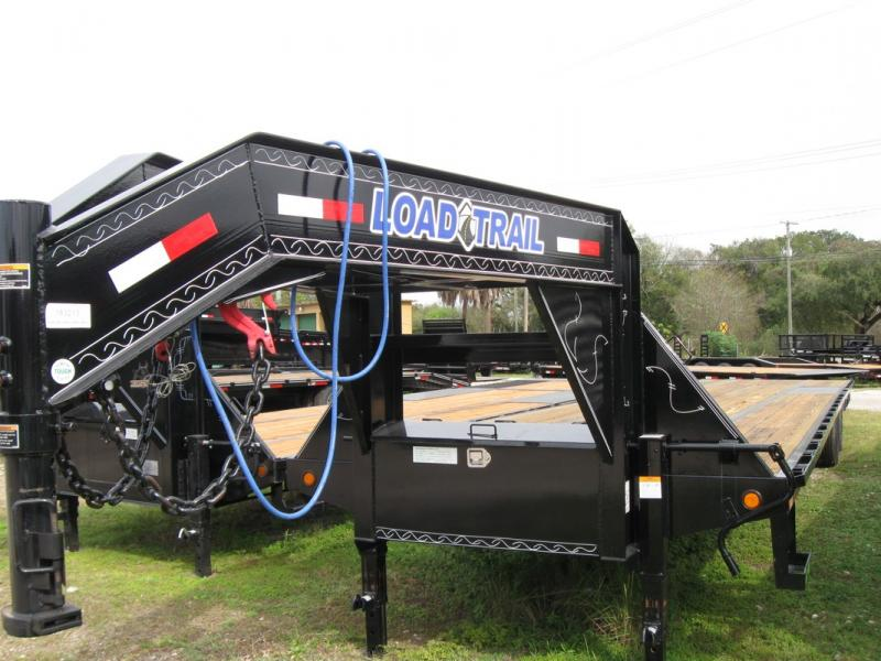 *106949* 8.5x40 Gooseneck Flatbed Trailer |BUTT END Trailers 8.5 x 40